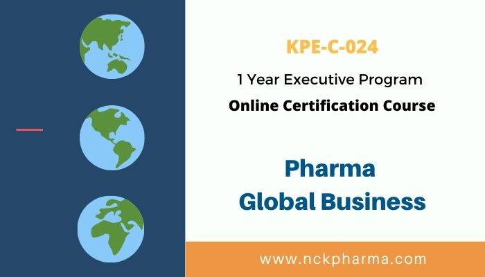 Pharmaceutical Global Business Course