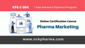 pharma marketing online certification course