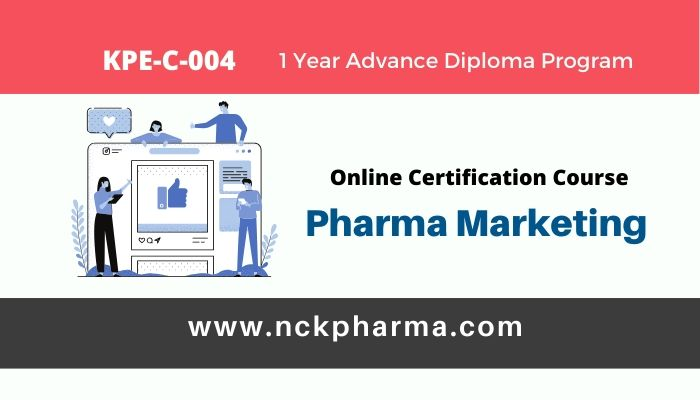 pharma marketing online certification course