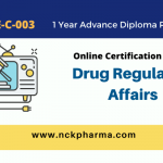 drug regulatory affairs course