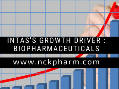 Intas's Growth Driver Biopharmaceuticals