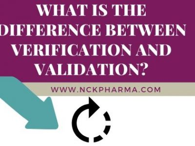 What is the difference between Verification and validation?