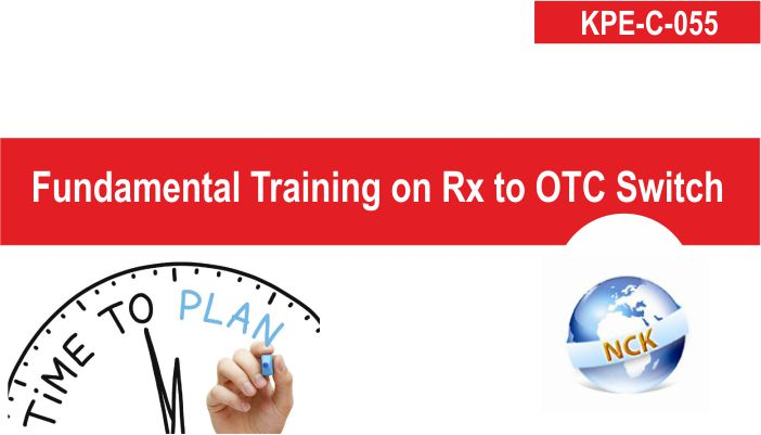 Fundamental Training on Rx to OTC switch