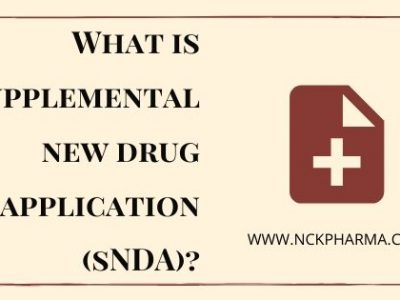 supplemental new drug application sNDA