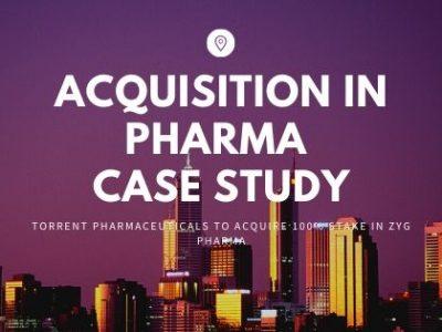 pharma acquisition case study