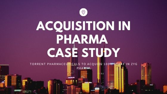 pharma acquisition case study