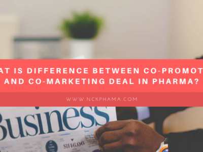What is difference between co-promotion and co-marketing deal in pharma