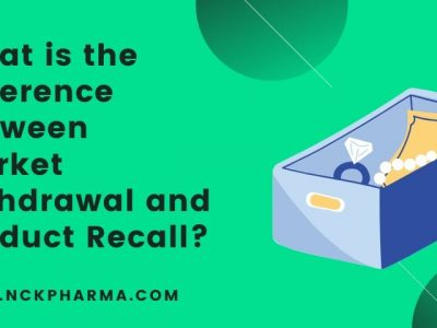 What is the difference between Market withdrawal and Product Recall