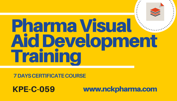 Pharma Visual aid development training