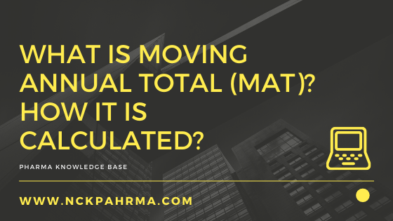 What is Moving annual total (MAT)