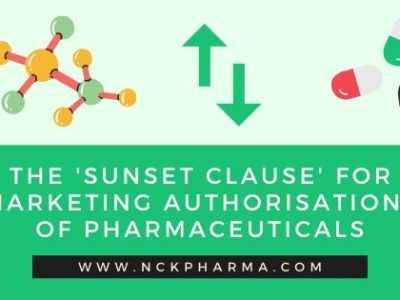 The 'sunset clause' for marketing authorisations of pharmaceuticals