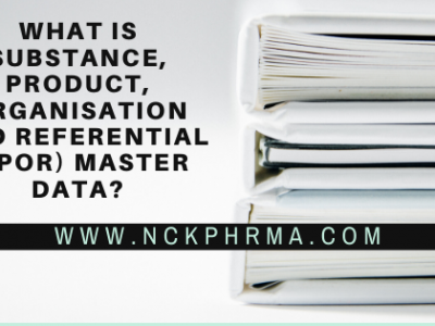 What is Substance, product, organisation and referential (SPOR) master data?