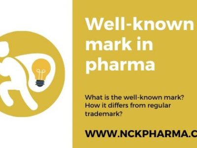 Well known mark in pharma