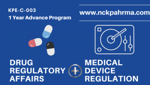 DRUG and Medical Devices REGULATORY AFFAIRS