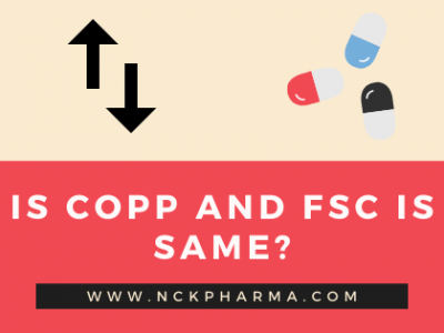 Is COPP and FSC is same?