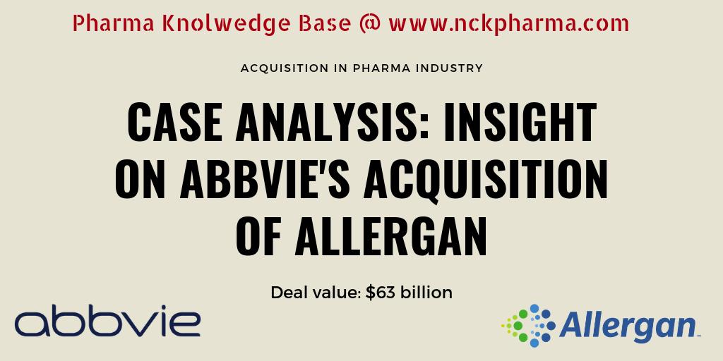 Read Abbevie-Allergan Deal at www.nckpharma.com