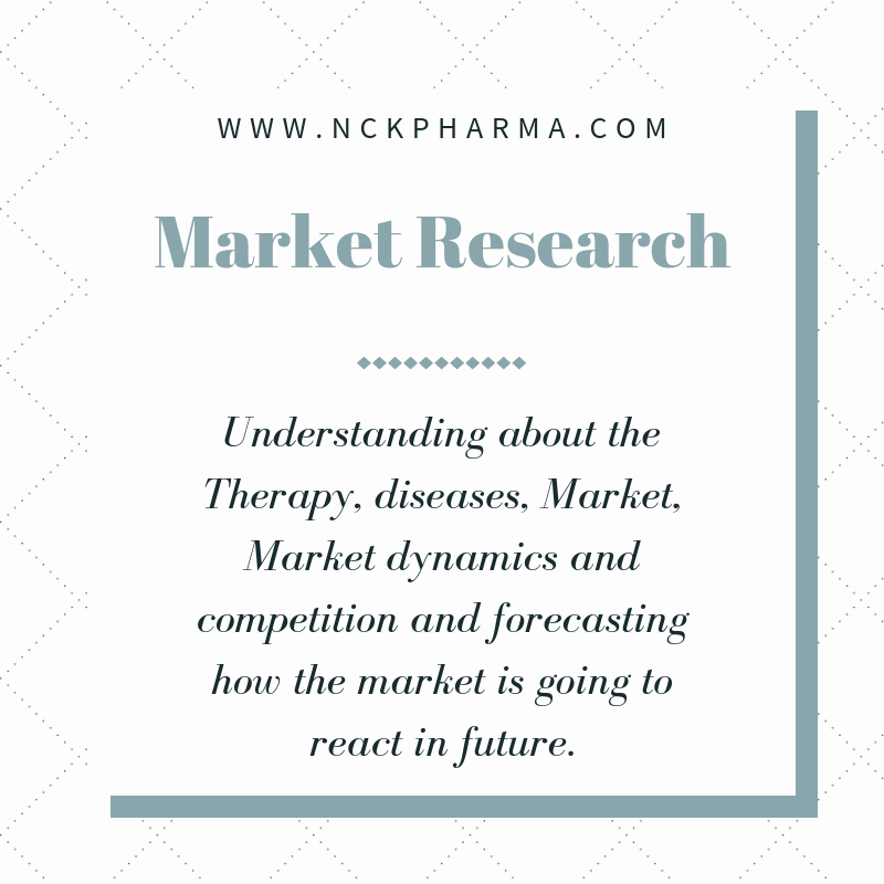 Pharma and biopharma market research by nck pharma