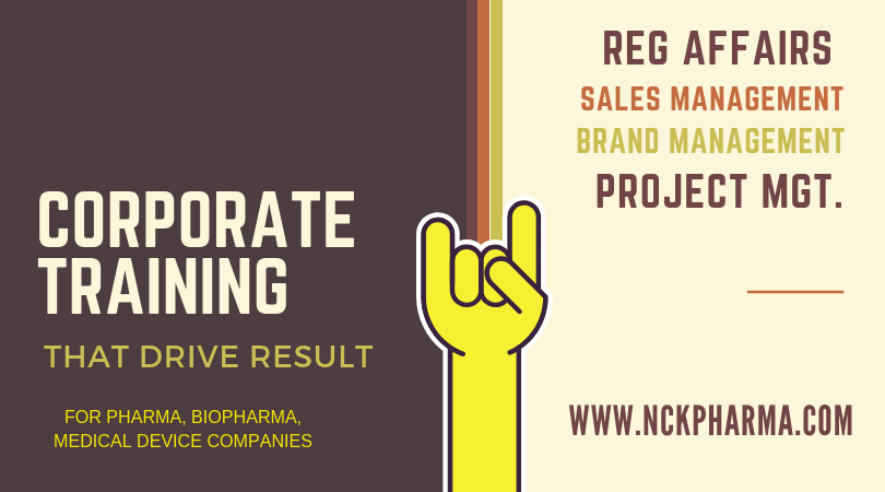 Corporate Training By www.nckpharma.com