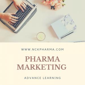 Pharma marketing course at nckpharma