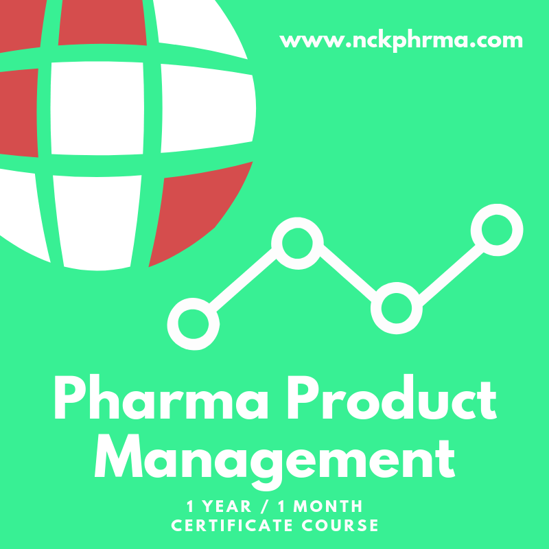 pharma product management course at nckpahrma