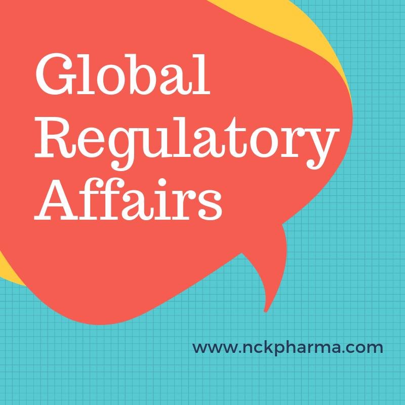 Global Drug Regulatory Affairs