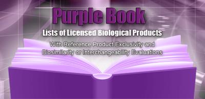 what is USFDA purple book