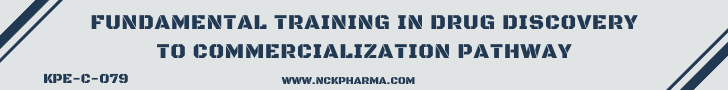 Fundamental Training in Drug Discovery to Commercialization Pathway by nckpharma