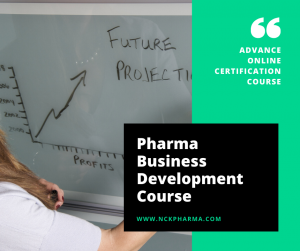 Pharma business development course by nckpharma