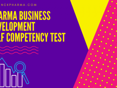 Pharma Business Development competency test
