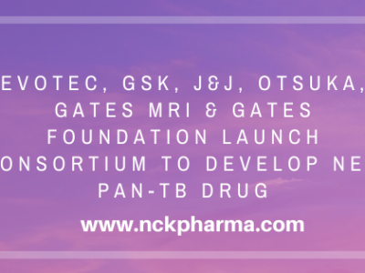 Evotec, GSK, J&J, Otsuka, Gates MRI & Gates Foundation launch consortium to develop new pan-TB drug