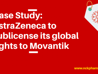Case Study: AstraZeneca to sublicense its global rights to Movantik