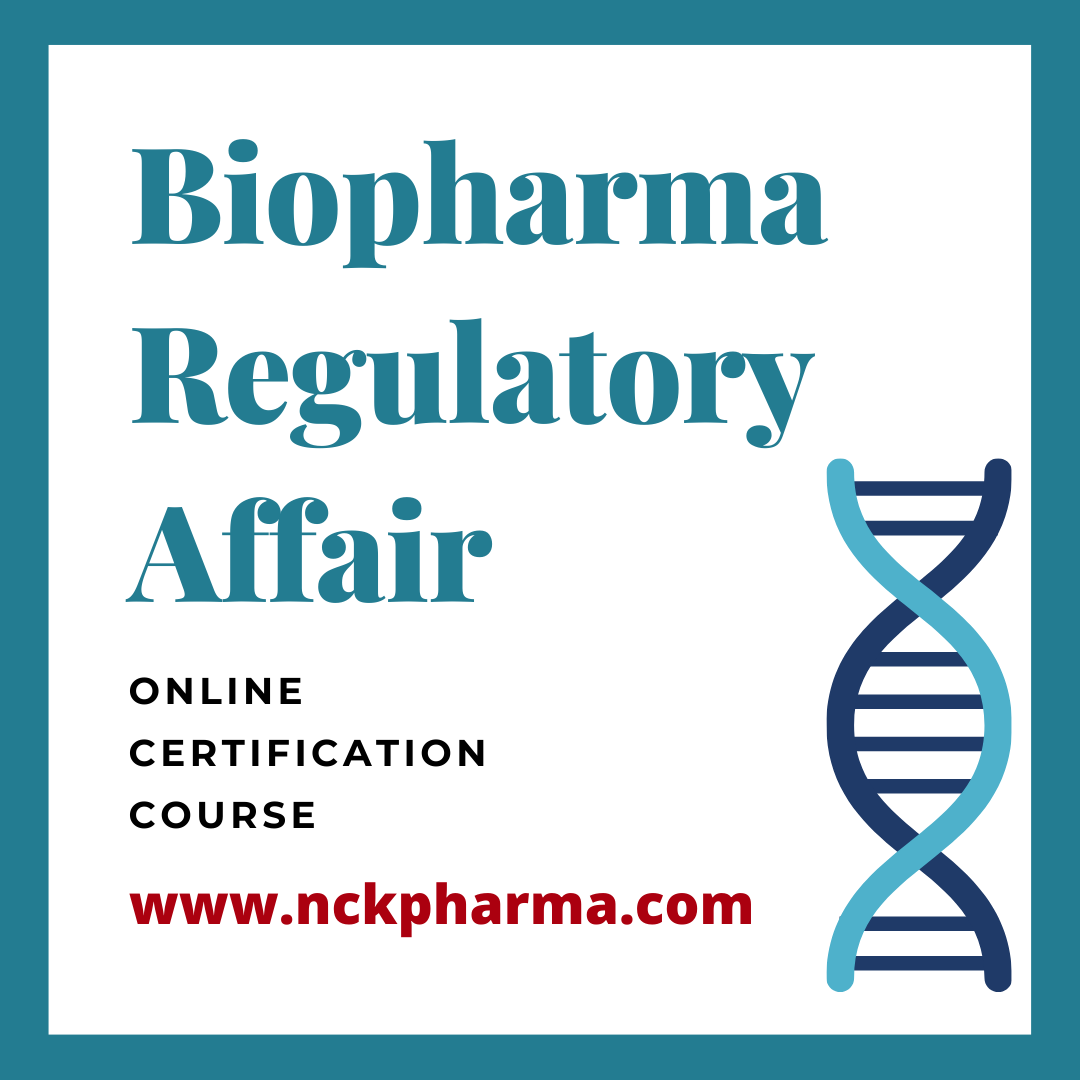 biopharma regulatory affairs