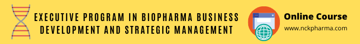 Executive Program in Biopharma Business Development and Strategic Management