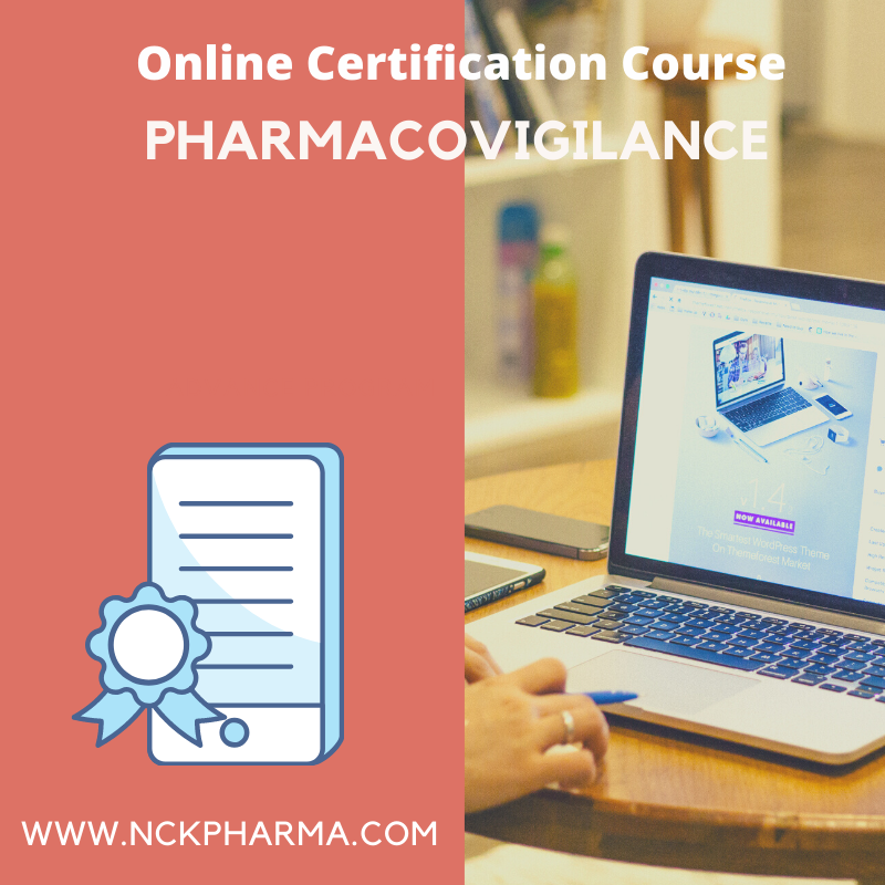 pharmacovigilance course by nckpharma