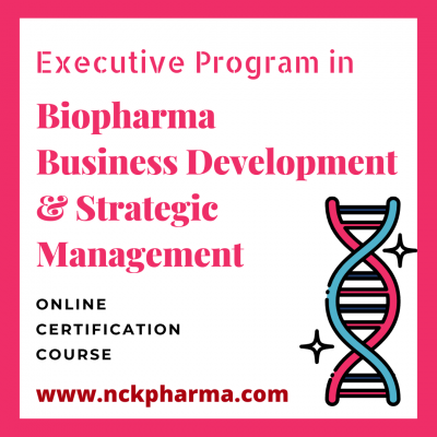 biopharma business development and strategic management