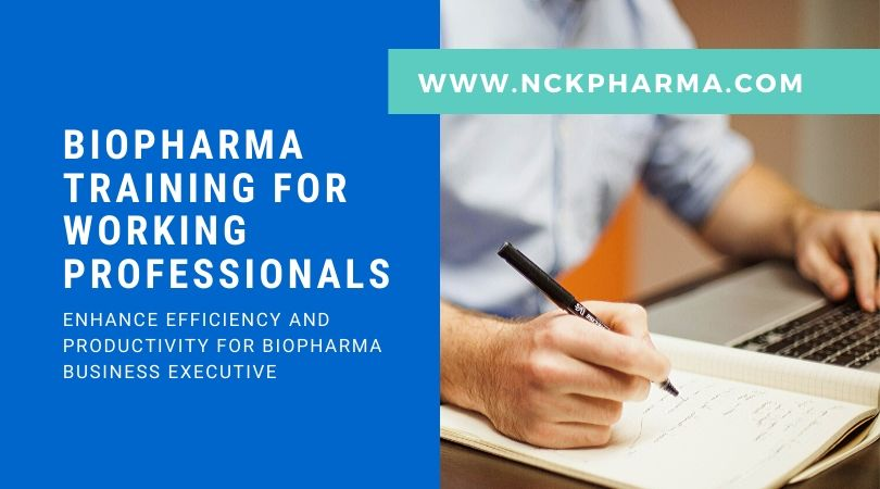 biopharma training for working professionals