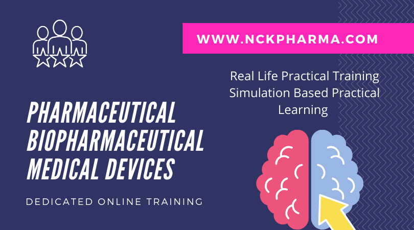 nckpharma pharma biopharma medical device courses